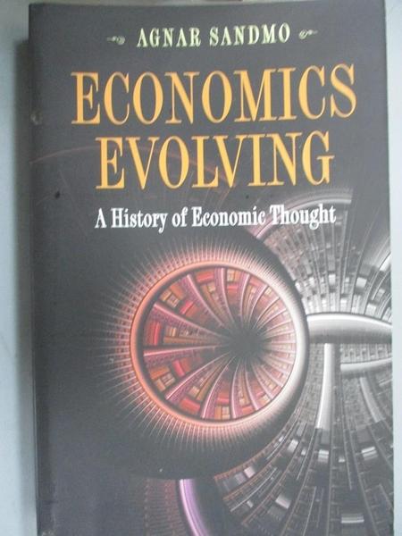 【書寶二手書T7/歷史_XBH】Economics Evolving: A History of Economic Thought_Sandmo, Agnar