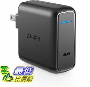 [9美國直購] 充電器 Anker USB Type C Wall Charger, 30W with Power Delivery, PowerPort Speed PD 30 for MacBook _E17