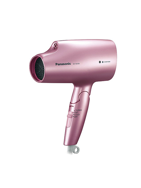 Panasonic 【日本代購】松下 負離子吹風機 EH-NA58 - 粉色