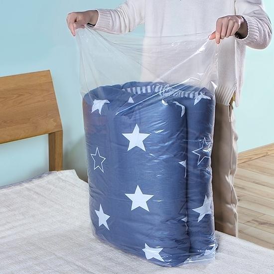 中號家用棉被收納袋(10入-70x100cm) 打包袋 玩具 衣櫃 被單 枕頭 換季【T036】color me