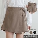 【天母嚴選】一片裙綁帶短褲(共二色)...