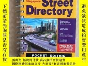 二手書博民逛書店SINGAPORE罕見STREET DIRECTORY New