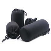 相機收納包 單反相機鏡頭袋鏡頭包加厚防震鏡頭筒保護套鏡頭保護袋收納包聖誕節交換禮物