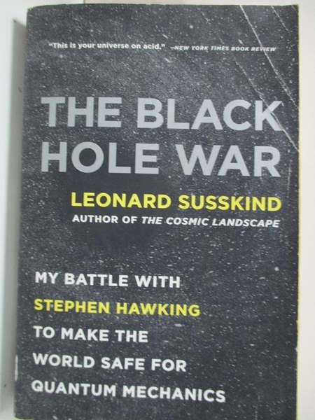 【書寶二手書T1/科學_B5R】The Black Hole War: My Battle With Stephen Hawking to…