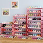 多層收納鞋架簡易組裝防塵多功能