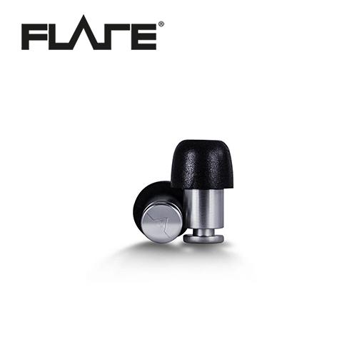 【敦煌樂器】Flare Isolate 系列鈦金屬專業級英國防躁耳塞 金屬銀色款