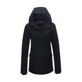 [Mountneer] 山林 (女) 防水保暖羽絨外套 黑 (22J16-01)