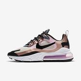 Nike W Air Max 270 React [CT1833-100] 女鞋 運動 休閒 慢跑 籃球 緩震 棕 粉
