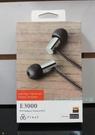 平廣 Final Audio E3000 耳道式 耳機 門市展售中 有線版本1.2m  送盒繞公司貨保2年 另售SOL
