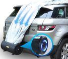 汽車全自動車衣車罩防雨防曬四季隔熱智能遙控suv轎車通用遮陽罩