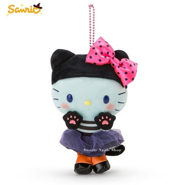 日本限定 三麗鷗 HELLO KITTY 凱蒂貓  萬聖節 吊飾玩偶娃娃