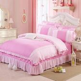 全純棉磨毛四件套冬床單被套全純棉三件套4單雙人1.8m1.5床上用品   蓓娜衣都
