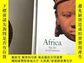二手書博民逛書店Africa:罕見The Art of a Continent(