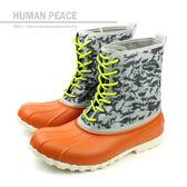native JIMMY P 靴子 低筒 靴 保暖 桔 灰 男鞋 女鞋 GLM15P-801 no261
