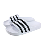 adidas ADILETTE AQUA 拖鞋 防水 白色 男鞋 F35539 no703