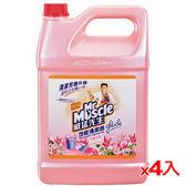威猛先生地板清潔劑-完美花香 1加侖*4(箱)【愛買】