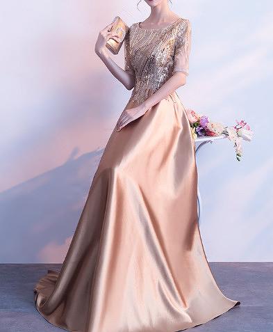 (45 Design) 婆婆禮服婚宴媽媽禮服媽媽套裝媽媽洋裝禮服媽媽裝小禮服媽媽晚禮服婚9