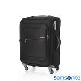 Samsonite 新秀麗 20吋 POPULITE 四輪 TSA超輕量可擴充布面行李箱(黑)