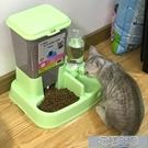 寵物餵食器貓咪用品自動喂食器貓碗雙碗自動飲水寵物自動喂食器狗碗 快速出貨