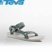 【TEVA 美國 男 Original U 經典涼鞋 馬賽克灰】1004006MCG/運動涼鞋/海灘鞋/涼鞋/休閒涼鞋