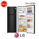 含安裝 LG 樂金 上下門冰箱 GN-L397BS 直驅變頻 315L 星夜黑 頻壓縮機10年保固 公司貨