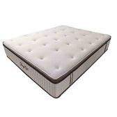 【SleepRite】天然馬毛-乳膠獨立筒捲床床墊雙人5x6.2呎