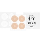 韓國進口男士乳貼防凸點水汗透明無痕白襯衫T恤激凸夏季胸貼