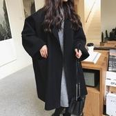 毛呢外套 大衣女中長款韓版秋季2020新款毛呢呢子外套秋冬裝港風復古bf森系 新年慶