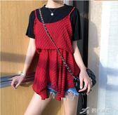 背心 小心機吊帶背心女內搭外穿韓版學生百搭修身顯瘦上衣 樂芙美鞋