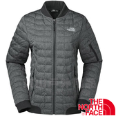 The North Face TNF 35CR-KX7灰黑 女防風保暖纖維外套 戶外登山休閒夾克/棒球外套/防寒風衣