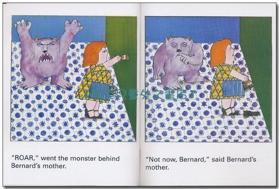 【麥克書店】NOT NOW BERNARD /英文繪本+CD《中譯:冬冬,等一下》