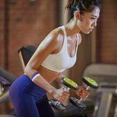 美背交叉背心式無鋼圈運動文胸薄防震聚攏上托健身瑜伽跑步內衣女