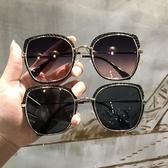 遮臉顯瘦方形太陽鏡旅游眼鏡防曬