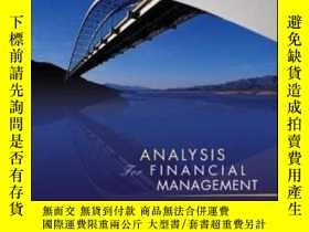二手書博民逛書店Analysis罕見For Financial Management + S&p Subscription Car