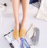 女士夏季薄款隱形襪 日系韓版可愛狐貍矽膠防滑船襪 低筒淺口襪子   草莓妞妞