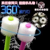 嬰兒牙刷 日本STB蒲公英360度嬰嬰兒寶寶軟毛訓練乳牙刷0-1-2-3-6歲 5個 潮先生