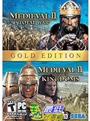 [7美國直購] 2018 amazon 亞馬遜暢銷軟體 Medieval II Gold Pack (Total War, Total War Kingdoms) PC