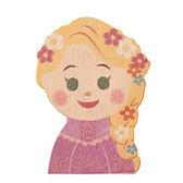 Disney KIDEA 迪士尼益智平衡積木 小木塊 長髮公主樂佩