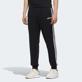 Adidas ESSENTIALS 3-S 男裝 長褲 休閒 經典 縮口 三條線 黑 【運動世界】 DU0468