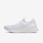 Nike W Epic Phantom React Fk [BV0415-100] 女鞋 運動 輕量 情侶 襪套 白