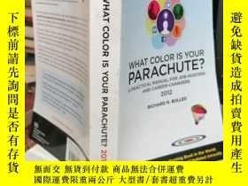 二手書博民逛書店What罕見Color Is Your Parachute?(4