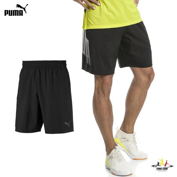 Puma ACE 9'''' 男 黑色 9吋 基本系列 運動 休閒 慢跑褲 籃球褲 短褲 透氣 排汗 51735003