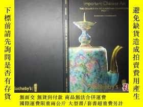 二手書博民逛書店sotheby s,important罕見chinese art