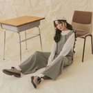 Queen Shop【04050765】花苞造型吊帶連身褲 兩色售*現+預*