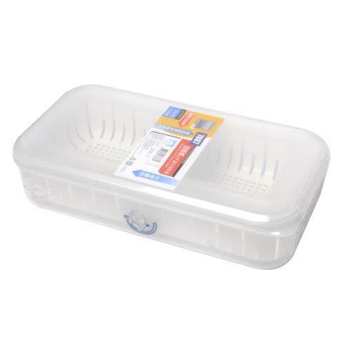 【九元生活百貨】佳斯捷 7887 甜媽媽7號濾水保鮮盒-3600ml 保鮮盒 濾水保鮮盒