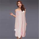 【美容護膚場考試用】WB布料自黏式粉色美容衣.浴裙-單件 [52571]美體SPA