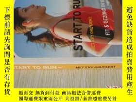 二手書博民逛書店荷蘭文原版罕見Start to run met Evy Gruyaert: fit en gezond in 10