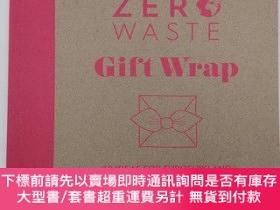 二手書博民逛書店Zero罕見Waste: Gift Wrap: 30 ideas for furoshiki and other