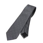 GUCCI 滿版GG 蠶絲男仕領帶(灰色)