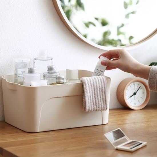 北歐風簡約收納箱 玩具整理箱 廚房浴室衣櫃收納 可堆疊收納 小款【RS701】